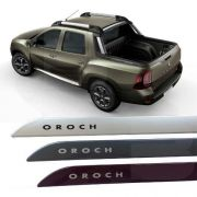 Friso Lateral na Cor Original Renault Oroch 2016 17 18 19