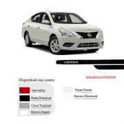 Friso Lateral na Cor Original Nissan Versa 2011 12 13 14 15 16 17 18
