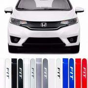 Friso Lateral na Cor Original Honda Fit 2013 14 15 16 17