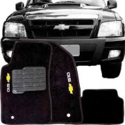 Tapete Carpete Tevic Chevrolet S10 S-10 Cabine Dupla 1995 Até 2011