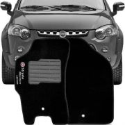 Tapete Carpete Tevic Fiat Strada Adventure Locker 2009 10 11 12 Cabine Simples