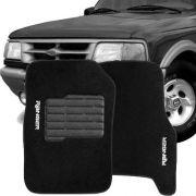 Tapete Carpete Tevic Ford Ranger Cabine Simples 1996 até 2011