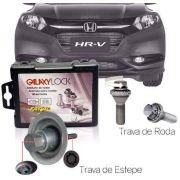Trava Antifurto Anti Roubo de Roda e Estepe Parafuso Porca Honda Hrv Hr-v Com Mais de 10.000 Segredos AC1/M | FT39