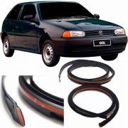 Friso De Teto Pingadeira Volkswagen Gol Bola 1998 Em Diante - 4 Portas Material Borracha