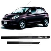 Friso Lateral na Cor Original Nissan March 2013 14 15 16 17 18