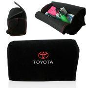 Bolsa Organizadora Porta Mala Tevic Toyota Com Velcro Fixador