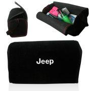Bolsa Organizadora Porta Mala Tevic Jeep Com Velcro Fixador 14 Litros