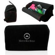 Bolsa Organizadora Porta Mala Tevic Mercedes Benz Com Velcro Fixador 14 Litros