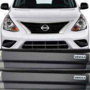 Kit Adesivo Soleira Premium Resinada Nissan Versa