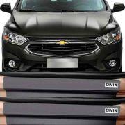 Kit Adesivo Soleira Premium Resinada Chevrolet Onix 2017 Em Diante