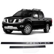 Friso Lateral na Cor Original Nissan Frontier 2008 09 10 11 12 13 14 15 16 17 18
