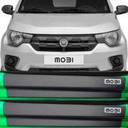 Kit Adesivo Soleira Premium Resinada Fiat Mobi