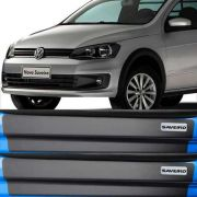 Kit Adesivo Soleira Premium Resinada Volkswagen Saveiro