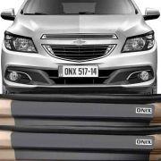Kit Adesivo Soleira Premium Resinada Chevrolet Onix