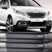Kit Adesivo Soleira Premium Resinada Peugeot 2008
