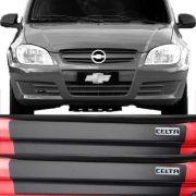 Kit Adesivo Soleira Premium Resinada Chevrolet Celta