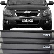 Kit Adesivo Soleira Premium Resinada Chevrolet Colbat