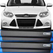 Kit Adesivo Soleira Premium Resinada Ford Focus