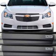 Kit Adesivo Soleira Premium Resinada Chevrolet Cobalt