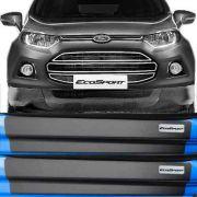 Kit Adesivo Soleira Premium Resinada Ford Ecosport