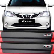 Kit Adesivo Soleira Premium Resinada Toyota Etios