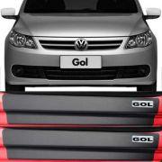 Kit Adesivo Soleira Premium Resinada Volkswagen Gol