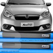 Kit Adesivo Soleira Premium Resinada Fiat Grand Siena