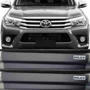 Kit Adesivo Soleira Premium Resinada Toyota Hilux