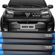 Kit Adesivo Soleira Premium Resinada Fiat Uno