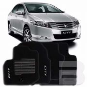 Tapete Carpete Premium Tevic Honda City 2011 12 13 14