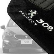 Tapete Carpete Premium Tevic Peugeot 308 2012 13 14 15 16