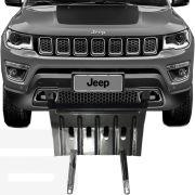 Protetor de Carter Completo Jeep Compass 2016 17 18 Com Parafusos Fixadores