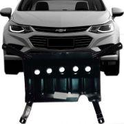 Protetor de Carter Completo Chevrolet Cruze 2017 18 Com Parafusos Fixadores
