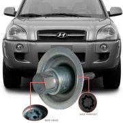 Trava Antifurto Anti Roubo Estepe Hyundai Tucson 2005 Em Diante Sparelock Com Mais de 10.000 Segredos