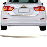 Friso Resinado Porta Malas Chevrolet Cruze Turbo 2012 13 14 15 16 17 18 Cromado