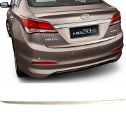 Friso Resinado Porta Malas Hyundai Hb20s 2012 13 14 15 16 17 18 Cromado