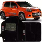 Tapete Carpete Tevic Fiat Uno 2011 12 13 14 15 16 17 18