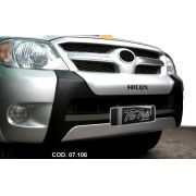Over Bumper Front Bumper Toyota Hilux Cabine Dupla 2005 06 07 08 09