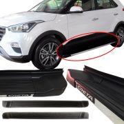 Estribo Lateral Hyundai Creta Plataforma Alumínio Modelo Original 2017 18 19