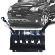 Protetor de Carter Completo Chevrolet Captiva 2010 11 12 13 14 Com Parafusos Fixadores