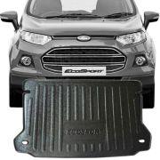 Tapete Bandeja Porta Malas Com Borda Elevada Ford Ecosport 2013 14 15 16 17
