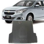 Tapete Bandeja Porta Malas Com Borda Elevada Chevrolet Cobalt 2012 13 14 15 16 17 18