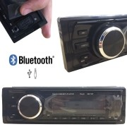 RÁDIO MP3 PLAYER AUTOMOTIVO COM BLUETOOTH ENTRADA USB E AUXILIAR 6227 BT