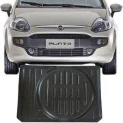 Tapete Bandeja Porta Malas Com Borda Elevada Fiat Punto 2012 13 14 15 16 17