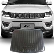 Tapete Bandeja Porta Malas Com Borda Elevada Jeep Compass 2017 18 19