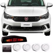 Sensor de Estacionamento 4 Pontos Fiat Argo com Alerta Sonoro