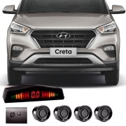 Sensor de Estacionamento 4 Pontos Hyundai Creta com Alerta Sonoro