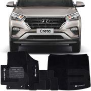 Kit Tapete Carpete Confort Hyundai Creta 6 Peças Completo