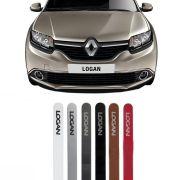 Friso Lateral na Cor Original Renault Logan 2007 08 09 10 11 12 13 14 15 16 17 18