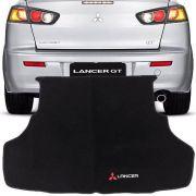 Tapete Carpete Porta Malas Bordado Mitsubishi Lancer